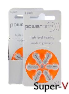 PowerOne-Hearing-Aid-Batteries-PR48-p13-SIZE-13-60-Batteries