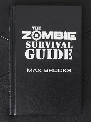 "Max Brooks - Zombie Survival Guide - Lettered ""J"" - Cemetery Dance"