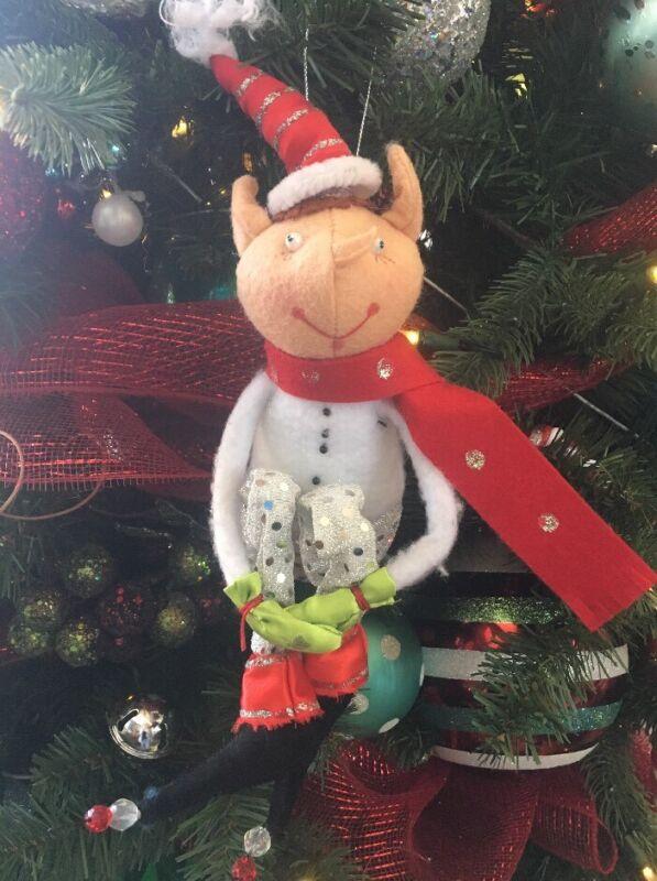 Vintage Christmas Elf Knee Hugger