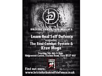Real Self Defence training in Yate, Bristol, incorporating the Real Combat System & Krav Maga