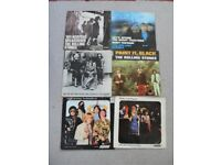 ROLLING STONES PICTURE SLEEVE SINGLES IN VG CONDITION