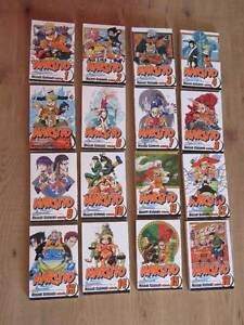 Naruto Manga, Volumes 1-31, 34-40, 42-43, 45, 69-72 + 2 novels Oxley Brisbane South West Preview