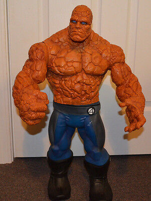 "MARVEL FANTASTIC FOUR THING 26"" TALL ACTION FIGURE GIANT 2005 TOYBIZ MOVIE"