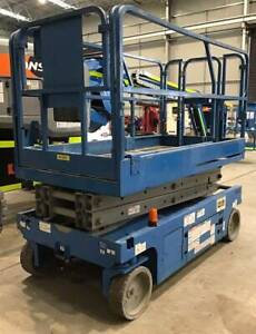 Genie GS2046 6 metre battery electric scissor lifts Malaga Swan Area Preview