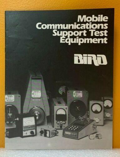 Bird Mobile Communications Support Test Equipment Catalog.