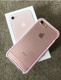 I phone 7! 32gb! Rose gold, 02