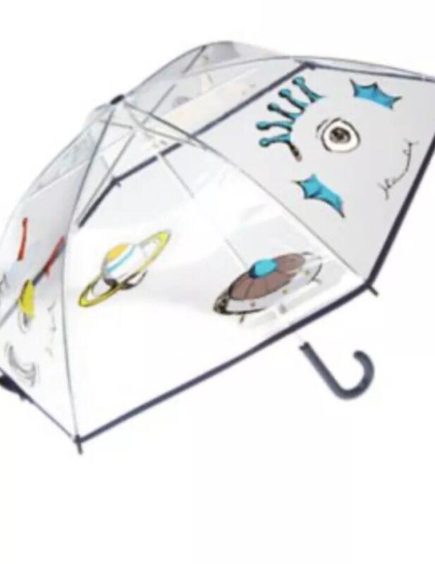 Gymboree Star Brights Umbrella Alien Space 4 5 6 7 8 10 12