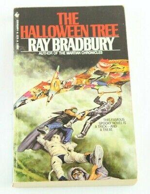 The Halloween Tree Ray Bradbury Vintage Paperback Rare 1981 Cover Art! (The Halloween Tree Art)