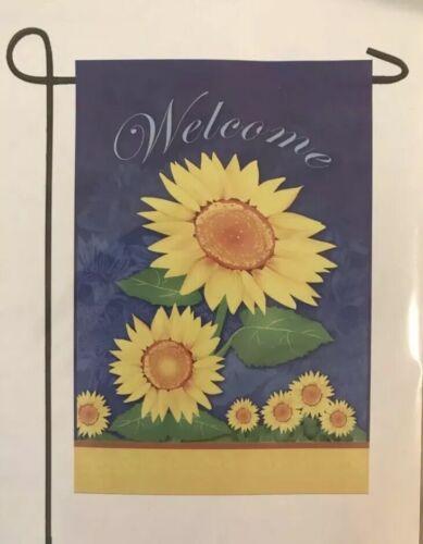 "Sunflower Garden Flag, 12""x18"""