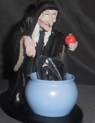 Disney Snow White Evil Witch Old Hag Villains desk set piece