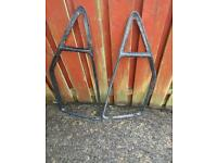 Vauxhall Astra GTE mk1 rear window trims *ONO*