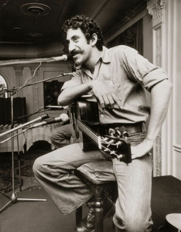 Jim Croce With The Microphone Vintage  8x10 Photo Print