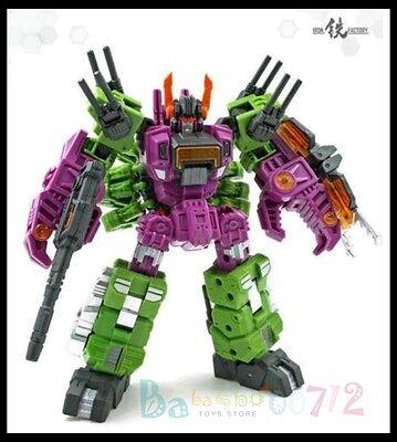 Transformers Toy Iron Factory If Ex 18 Scorpion Megazarak Minis