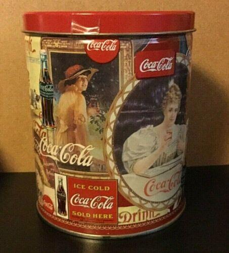 Vintage Coca Cola 700 Piece Jigsaw Puzzle in Tin Unopened Bag of Pieces 1998