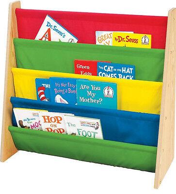 Book Rack Bookcase Kid Toddler Children Storage Organizer Daycare Furniture New
