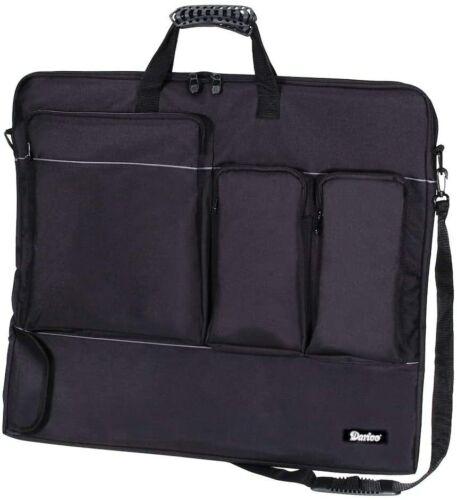 Darice Studio71 Nylon Portfolio 24 x 28 x 1.5 inches Black 97651 Carrying Bag