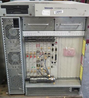 Tektronix Ots9000 Test System W Oc192stm64 Txrx Optics Recieve Clktrigcpu