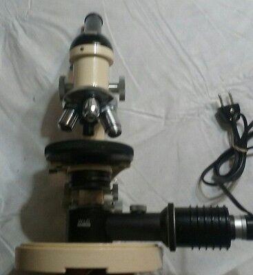 Optical Microscope M11 Wild Heerbrugg Switzerland Optics