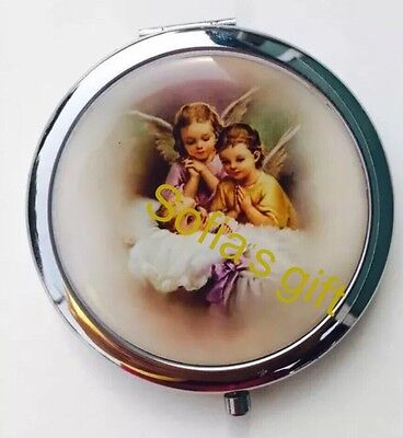 12pc Baptism  first communio favors Mirror My Guardian Angel recuerdos d bautizo