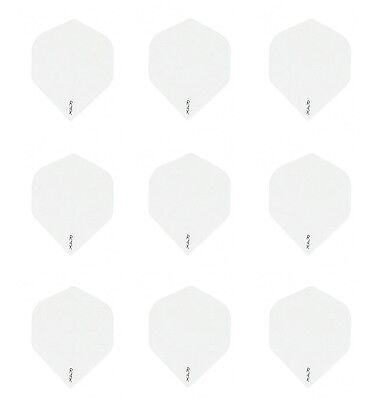 Ruthless White w//Yellow Pot Leaf Standard Dart Flights Micron-3 sets 9 flights
