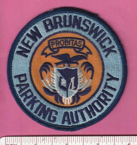 New Brunswick NJ State New Jersey Parking Police Shoulder Patch Middlesex County
