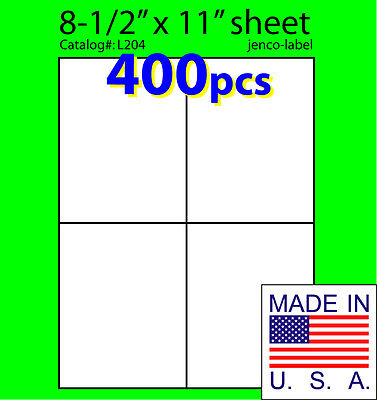 L204 400 Mailing Shipping Laser Inkjet 4-14x5-12