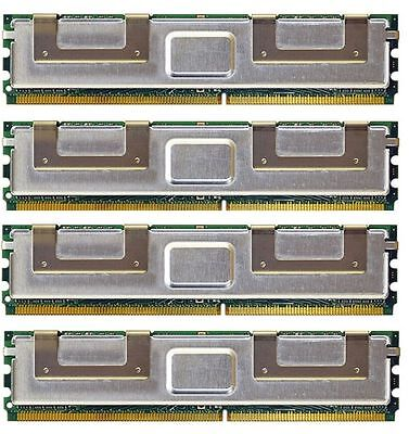 Not For Pc 16gb 4x4gb Pc2-5300 Ecc Fully Buffered Hp Work...