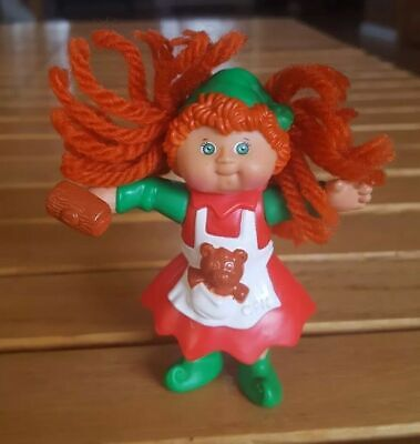 Cabbage Patch Kids Plastic Christmas Figurines McDonalds Happy Meal Toy  1994