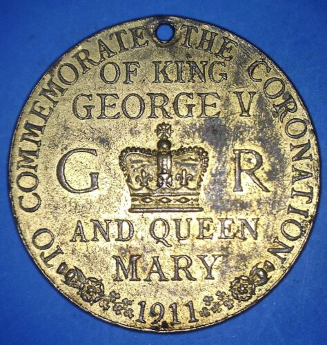 1911 COMMEMORATION OF THE CORONATION - KING GEORGE V AND QUEEN MARY - *07005828