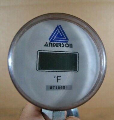 Anderson Digital Thermometer Fahrenheit 3-12 3.5 Probe 0715601