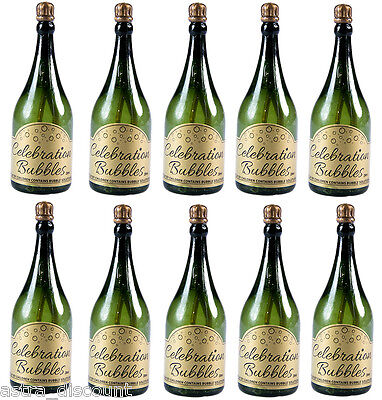Champagne Bottles WEDDING Wand Tube Bubbles Favours Table Decoration Confetti