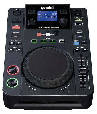 GEMINI CDJ-300 Desktop CD/MP3/USB-Player