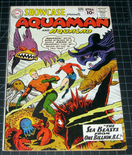 Showcase #31.  2nd Aquaman.  Nice!