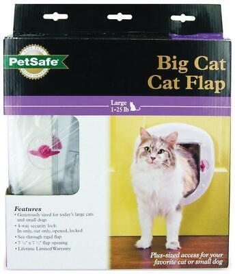 PetSafe 4-Way Locking Big Cat Flap Door, 7.12