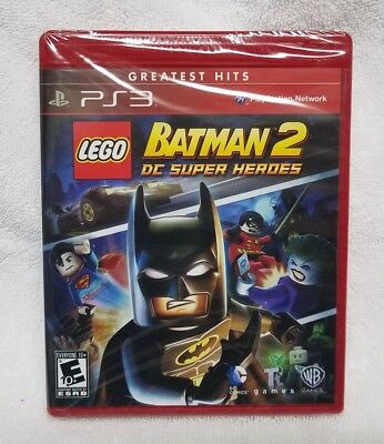 LEGO Batman 2: DC Super Heroes Sony PlayStation 3 PS3 Greatest Hits New Sealed!