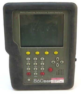 Trilithic 860dsp 860 Dsp Multifunction Cable Analyzer Docsis 3.0