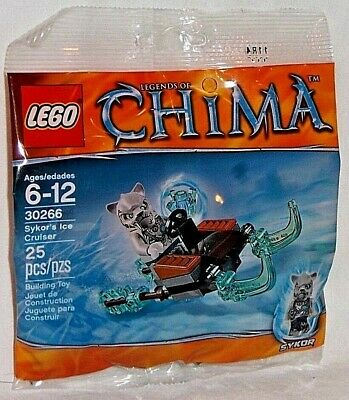 LEGO new sealed PROMO POLYBAG Baggie set 30266 LEGEND CHIMA Sykor's Ice Cruiser