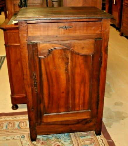 Antique French Provincial Walnut Confiturier Small Cabinet Jam 1800