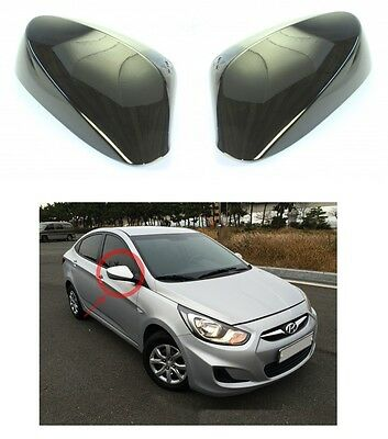 Genuine Side Mirror Cover 2p RHM for 2011 2017 Hyundai Accent Solaris