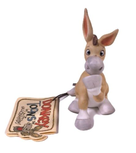 Jim Willoughby Donkey Toons Figurine Ceramic Donkey Figure With Original Tag
