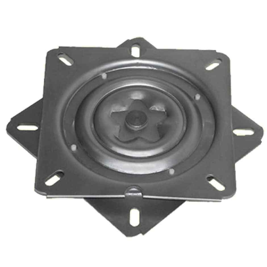 """360 Degree 7"""" Seat Swivel Base Mount Plate for Bar Stool, Ch"""