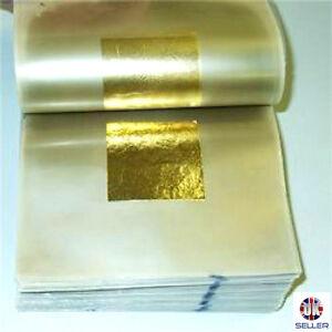 24ct-Gold-Leaf-100-Genuine-100-sheets