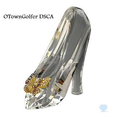 """DISNEY PARKS AUTHENTIC """"CINDERELLA FACETED CRYSTAL SLIPPER"""" BY ARRIBAS"""