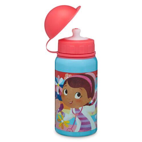 Disney Store Doc McStuffins Aluminum Water Bottle Small Kid Size BPA Free 12 oz