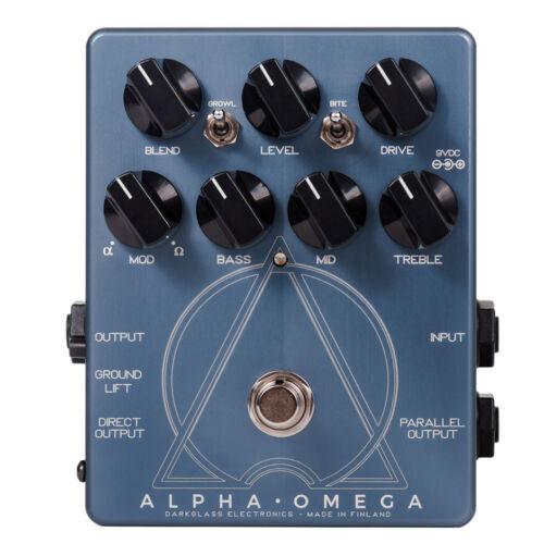 Used Darkglass Alpha Omega Dual Bass Preamp/OD Pedal