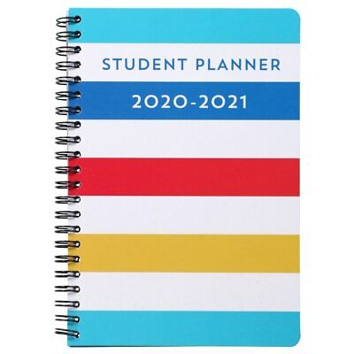 Jot Weekly Student Planner 2020 - 2021 Spiral Bound New 8 X 5.25 Stripes
