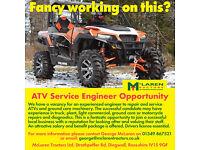 ATV Service Engineer based in Dingwall