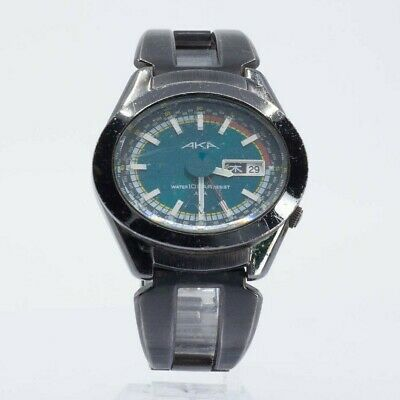 SEIKO ALBA AKA V743-5A10 WATCH JAPAN BLACK