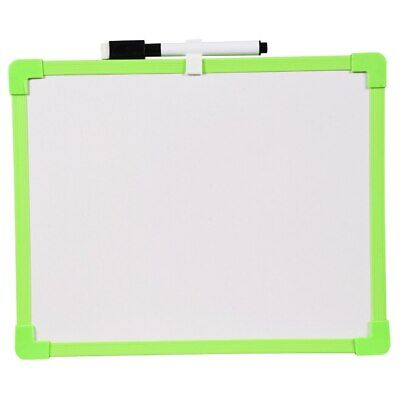 Dry Erase COLORFUL Board with Marker Light Duty GREEN   Board 8.5'' x 11'' New