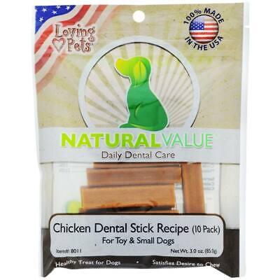 BEST Dog Treats MADE IN USA Dog Dental Chews Dental Care Dental Treats for